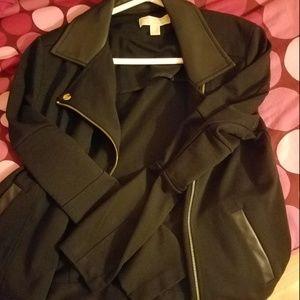 NWOT Black and Gold Michael Kors Jacket Size M